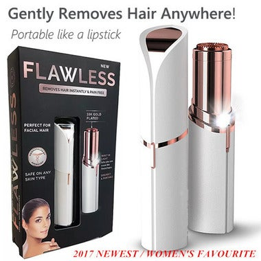 Finishing Touch Flawless Hair Remover Razor Body Face Electric Hair Removal Pai