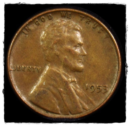 ★1953★  Lincoln Wheat Cent