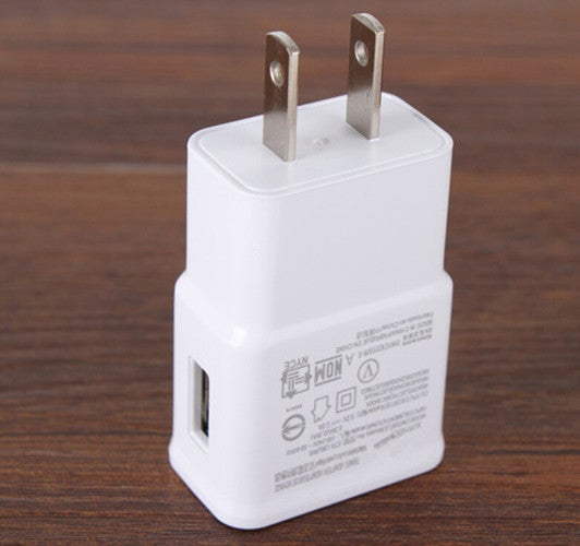 Micro 110V Plug USB Home Wall Charger White For Samsung Galaxy S4