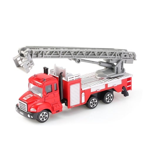 THE NORTH E HOME Kids Alloy 1:64 Scale Aerial Ladder Truck