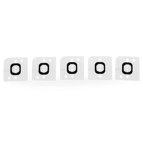 5Pcs / Set Home Button Holder Rubber for iPhone 6 Plus