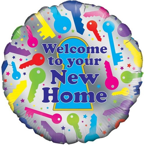 Oaktree 18 Inch Welcome To Your New Home Balloon