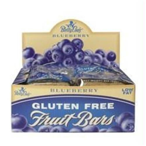Betty Lous 29537 Betty Lous Blueberry Fruit Bars -12x2 Oz