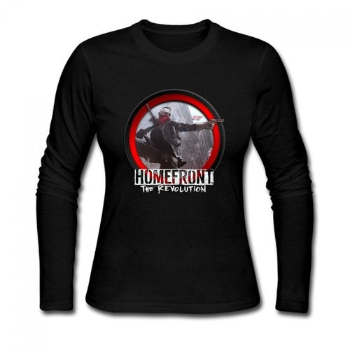 Homefront The Revolution 2016 Logo Women's Long Sleeve T-shirt