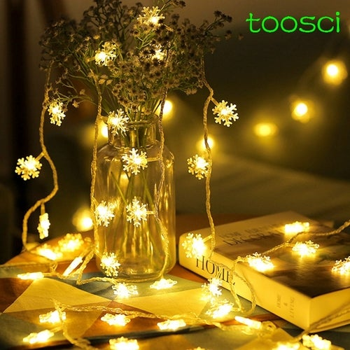 3m snow light led colorful mini lamp USB AA battery for festival christmas decoration home party chirstmas tree