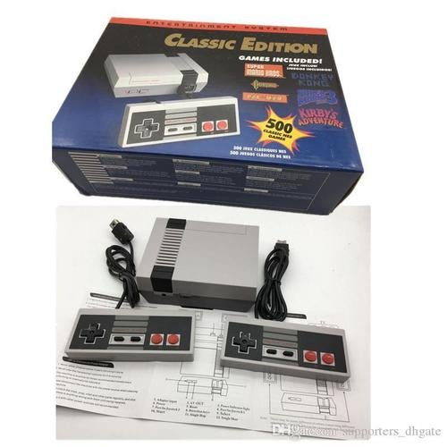 NES Classic Edition Mini Entertainment Console Built-in 500 Retro Games