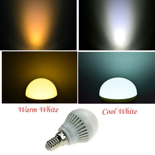 1Pcs LED Bulb E27 3W Light Lamp Warm White 220V
