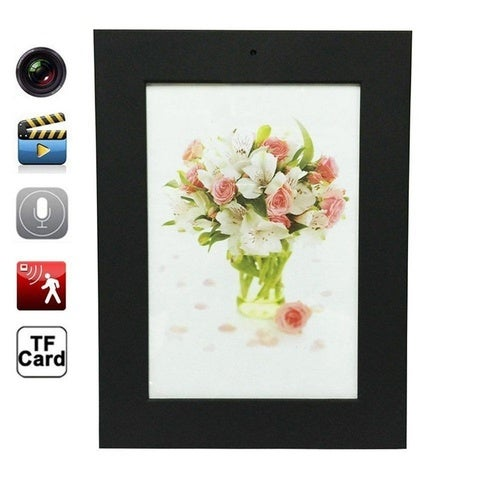 Home Photo Frame Hidden Cameras Mini DVR Audio Video Recorder Hidden Camcorder