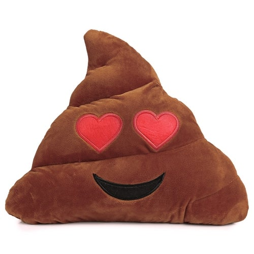 Cute Poop Expression Saucy Emoticon Pillow Stuffed Plush Toy Home Decoration Christmas Gift