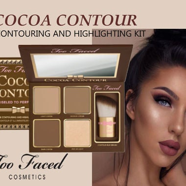 Too Faced Cocoa Contour Chiseled to Perfection Face Contouring and Highlighting