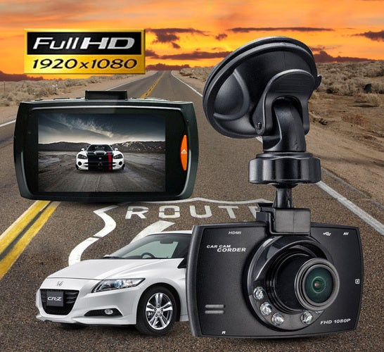 New Car DVR Dash Camera Night Vision cam Vehicle Traveling Date Recorder Tachograph
