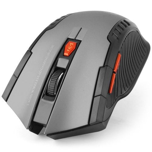 W4 2.4GHz 6D 2400DPI Wireless Optical Mouse For Games With Receiver