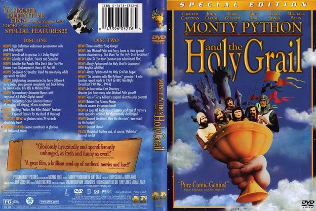 Monty Python and the Holy Grail (Special Edition) by Sony Pictures Home Entertainment DVD  – Special Edition, DVD