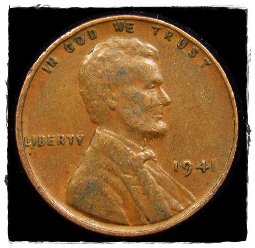 ★1941★  Lincoln Wheat Cent