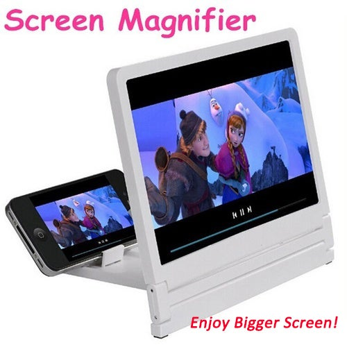 Lucky Year 2018! Nice Big Screen !8.2 inch Screen Amplifier Holders Selling