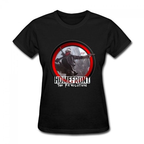 Homefront The Revolution 2016 Logo Women's Cotton Short Sleeve T-shirt