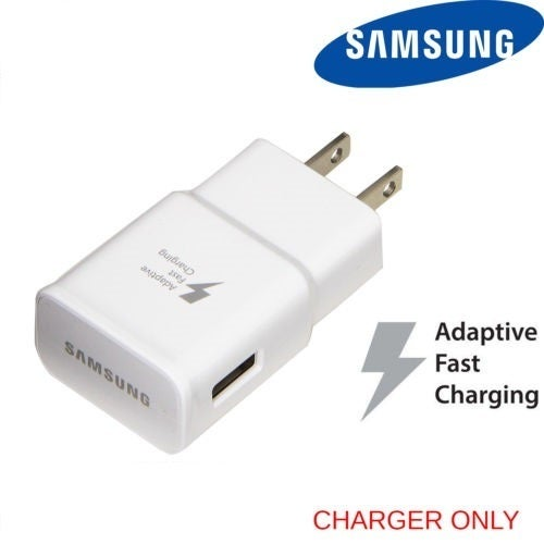 Samsung  USB Quick Charge 2.0 Fast Charging Travel Wall Adapter- USB Cable NOT included