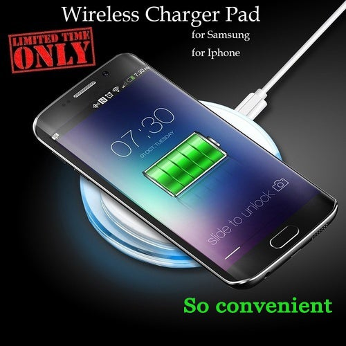 Original Wireless Charger Qi Charging Pad For iPhone X iphone 8 8Plus Wireless Charger for iPhone 8 Plus Mobile Phone Accessory