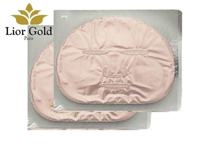 2 Pieces Lior Gold Collagen Lifting & Firming Mask