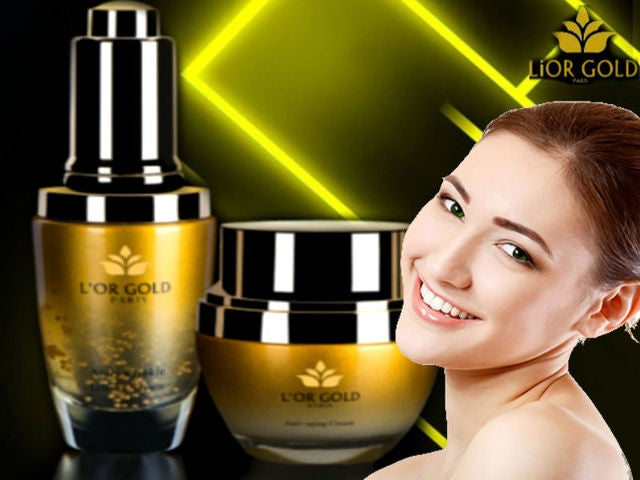 Lior Gold Paris 24K Anti Aging Set