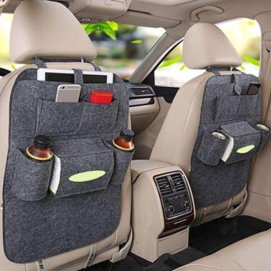 New Auto Car Seat Multi-Pocket Hang Storage Bag Organizer Holder Accessory