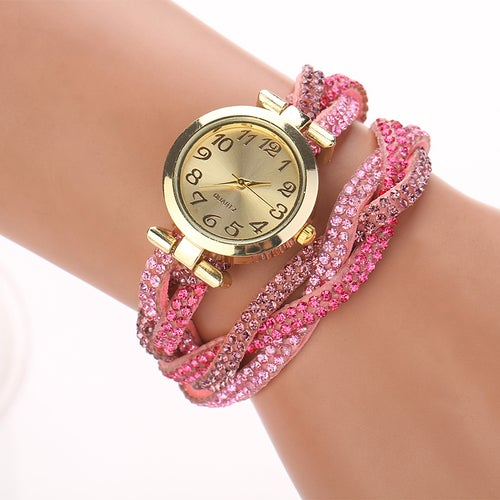 Crystal Wrap Watch Your Choice of Color