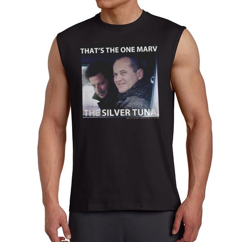 Home Alone That's The One Marv Quote Men's Black Sleeveless