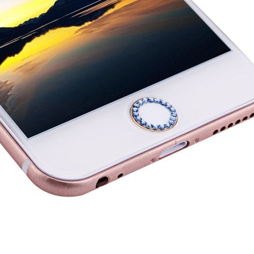 Exquisite Rhinestone Home Touch ID Button Sticker for iPhone 6 / 6 Plus / 6S / 6S Plus