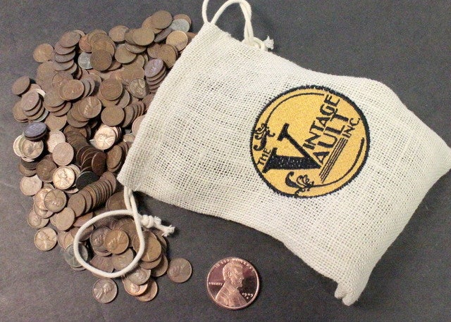 750 Count Unsearched Wheat Penny Vintage Vault Super    | Tophatter