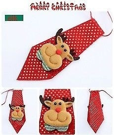 New Christmas Decorations For Home Reindeer Creative Children Flashing Tie 4 Colors