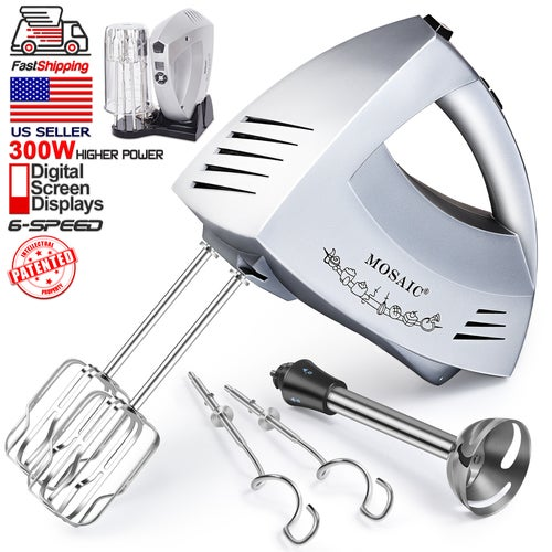 Electric Turbocharger Patents: Patent Design Hand Mixer Electric MOSAIC 300W 6 Spee