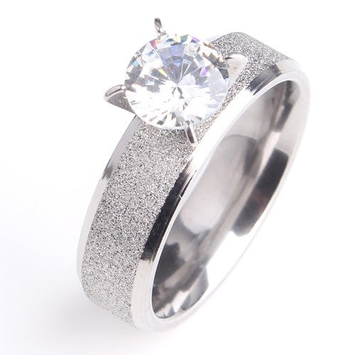 Engagement Ring Size 7 Only