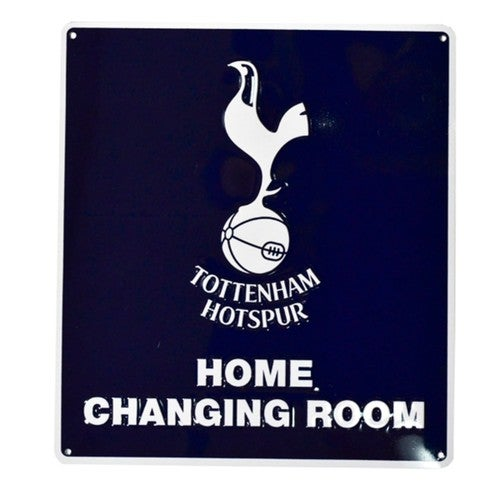 Tottenham Hotspur FC Official Home Changing Room Sign