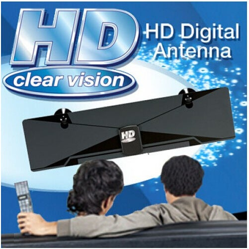 New Digital TV Antenna Satellite TV Receiver Digital Indoor HDTV DTV Box VHF UHF Receiver HD Clear Vision Digital Flat