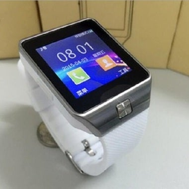 Elegant Look DZ-09 Smart watch with Sim card/Bluetooth/Pedometer etc., functions