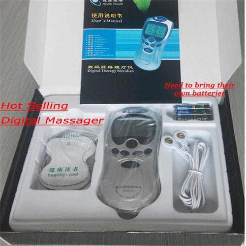 2017 Electric Therapy Health Care Tens Acupuncture Massageador Machine Pulse Body Slimmming Sculptor Massager