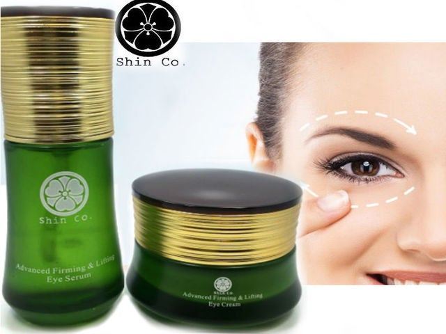 Shin Co Advanced Firming & Lifting Eye Set ( Cream + Serum)