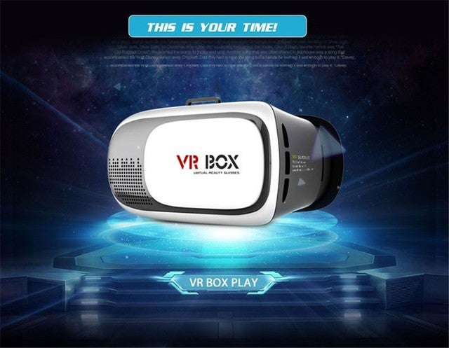 Google Cardboard VR BOX Version VR Virtual Reality 3D Glasses Headset