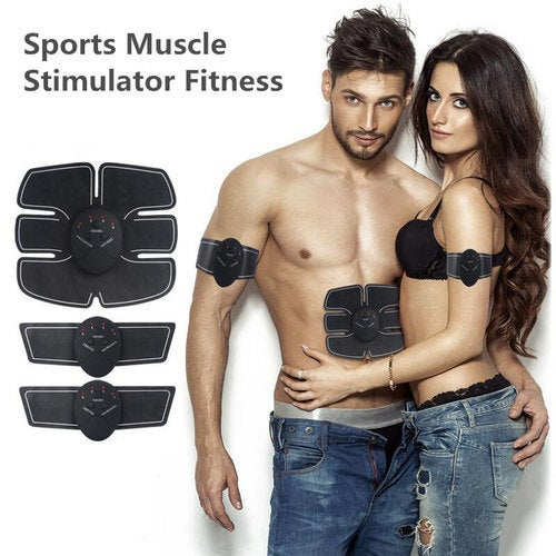 Newest Smart Electric Pulse Treatment Massager Abdominal Muscle Trainer Wireless Sports Muscle Stimulator Fitness