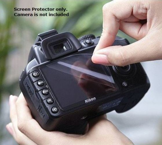 PULUZ Screen Protector 2.5D Curved Edge 9H Surface Hardness Tempered Glass for Nikon D500 / D600