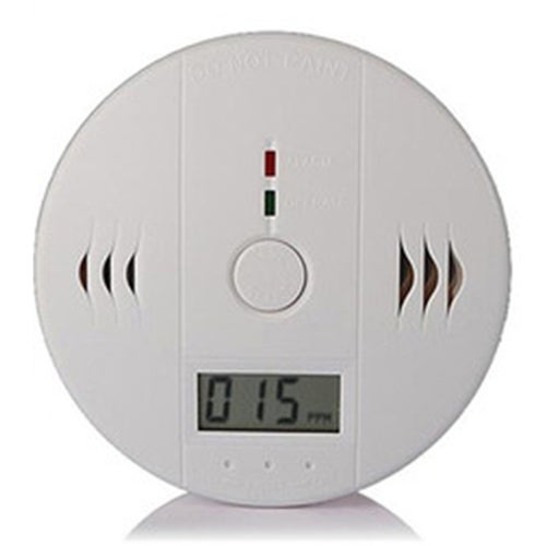 Home Security 85dB Warning High Sensitivity LCD Photoelectric Independent CO Gas Sensor Carbon Monoxide Poisoning Alarm System