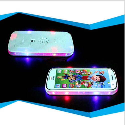 4D Baby Toy Phone Touch Screen Learn English with Song Light Story Telling Educational VocalToys