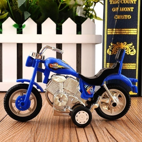 Cool Plastic Motorcycle Toy Model Hobby Toys Replace Kids Gift Boys & Girls Random (Size: 2)