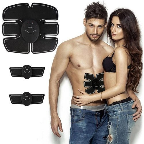 Muscle Toner Abdominal Trainer Toning Belt, EMS Wireless Body Gym Workout Home Office Fitness Equipment For Abdomen Arm Leg Training