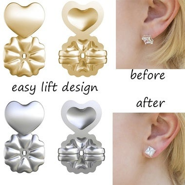 1Pair Magic Bax Earrings Backs Support Earring Lifts Hypoallergenic Fits All Pos