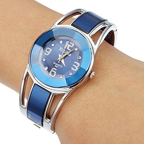 Stylish Blue Color Women Dress Watch