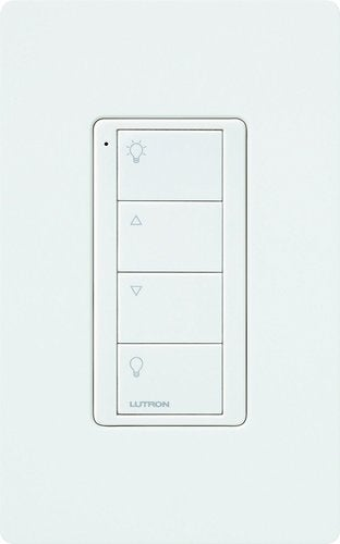 Lutron Connected Bulb Remote Control Instant Control of Bulbs LZL-4B-WH-L01