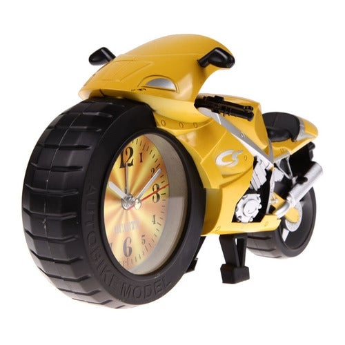 Most Popular Gift for Girl Boy Friend Design Motorcycle Creative Home Office Desk Alarm Clock Cool Gift