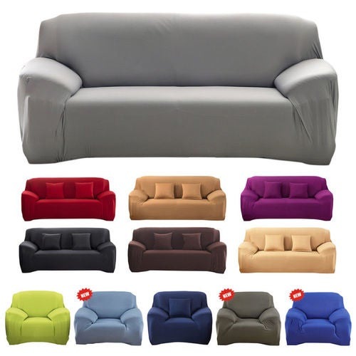 Astonishing 3 4 Seater Stretch Chair Sofa Loveseat Couch Protect Squirreltailoven Fun Painted Chair Ideas Images Squirreltailovenorg