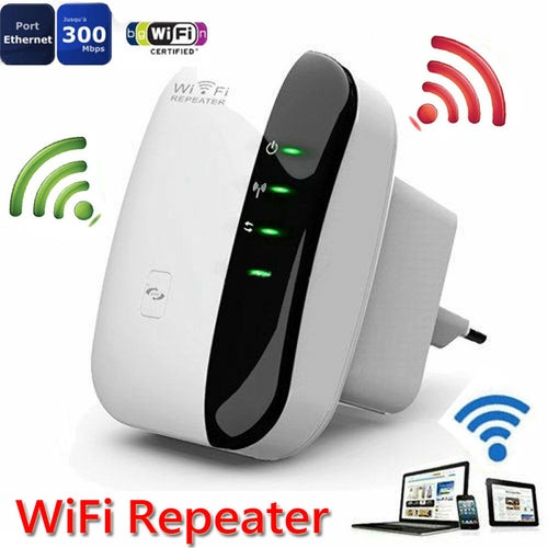 300M 802.11N Wireless-N Wifi Repeater 2.4G AP Router Signal Booster Extender Amplifier